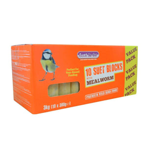 Suet To Go Mealworm Blocks Value 10 Pack