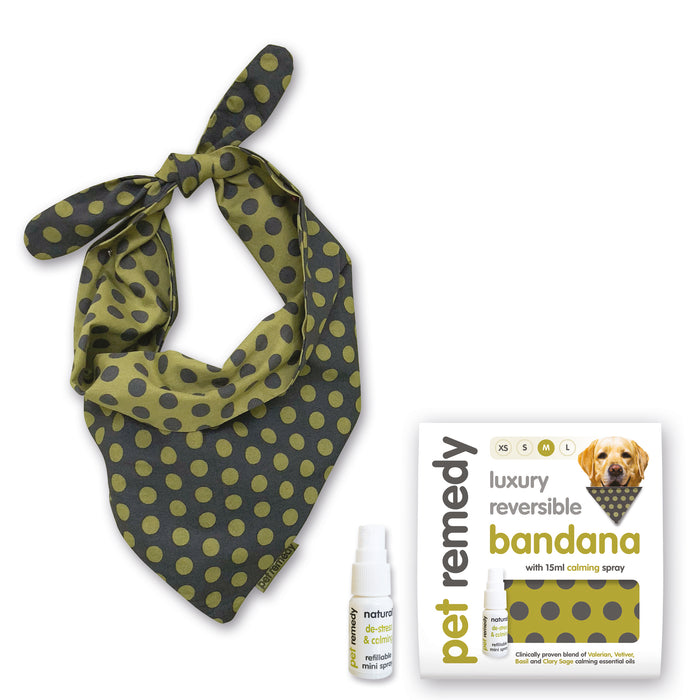 Pet Remedy Dog Luxury Reversible Bandana Medium