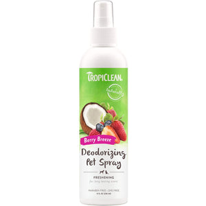 TropiClean Berry Breeze Deodorising Pet Spray 236ml