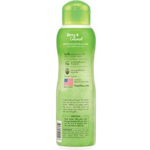 TropiClean Deep Cleaning Berry & Coconut Pet Shampoo 355ml
