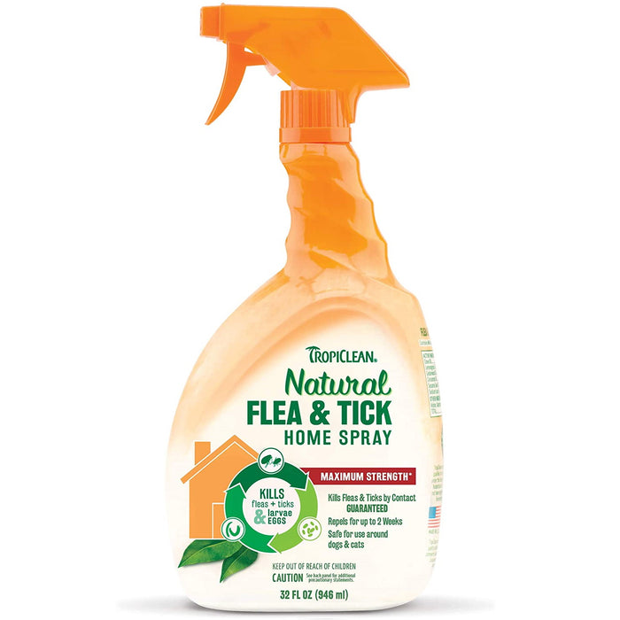 TropiClean Natural Flea & Tick Home Spray 946ml