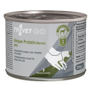 Trovet Canine/Feline Unique Protein Horse Cans (UPH) - 6 x 200g