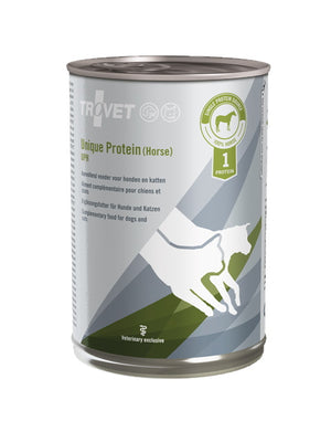 Trovet Canine/Feline Unique Protein Horse Cans (UPH) - 6 x 400g
