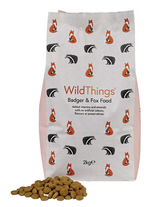 Wild Things Badger and Fox Food 2kg