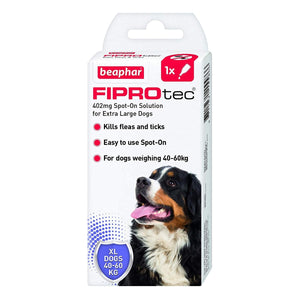 Beaphar FIPROtec Spot On Extra Large Dog  1 pipette