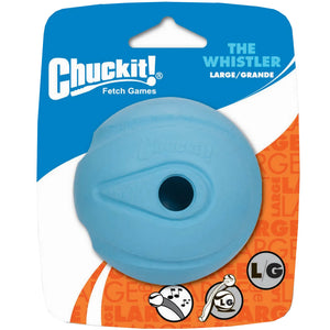 Chuckit The Whistler Ball 1 Pack Large 7.3cm