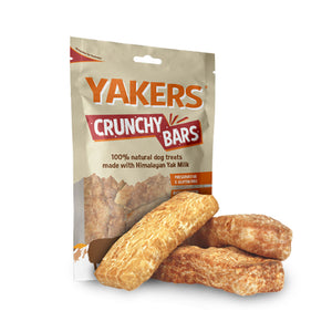 Yakers Natural Dog Treats Dry Himalayan The Crunchy Range