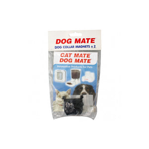 Dog Mate Dog Collar Magnets x2