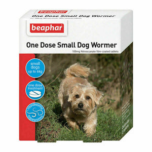 Beaphar One Dose Wormer   Small Dogs 3 tab