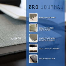 Load image into Gallery viewer, The Bro Journal: Gratitude & Personal Development Journal for Men