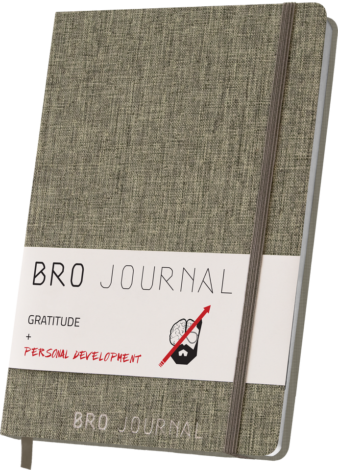 The Bro Journal: Gratitude & Personal Development Journal for Men