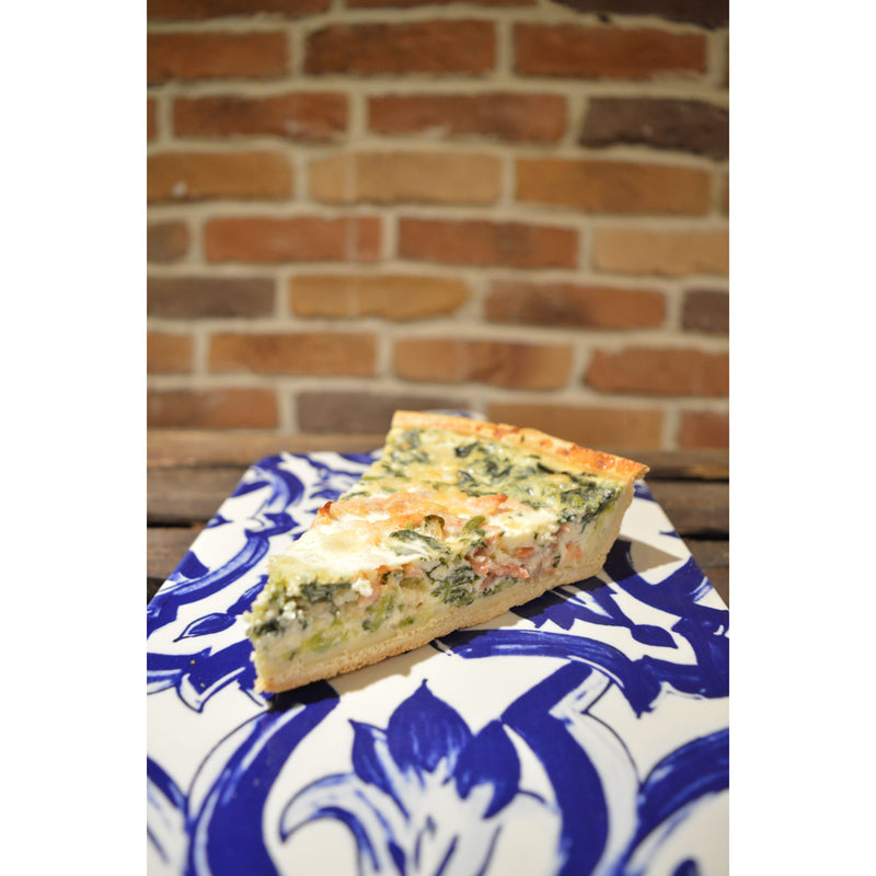Quiche Salmon & Spinach