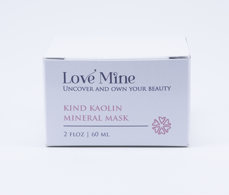 Kind Kaolin Mineral Mask
