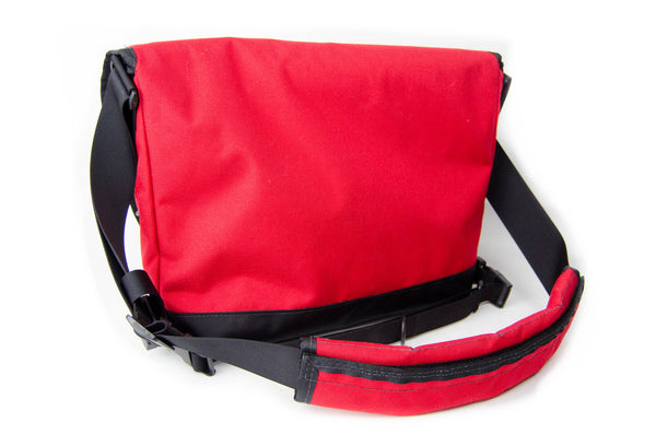 Red Small Messenger Bag