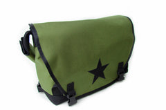 Olive Small Messenger Bag