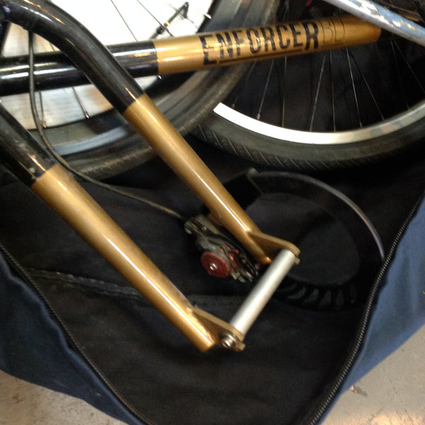 Dummy Axel for bicycle packing