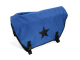 Royal Blue and Black Waterproof Messenger Bag