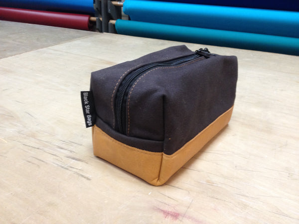 Canvas & Leather Dopp Kits