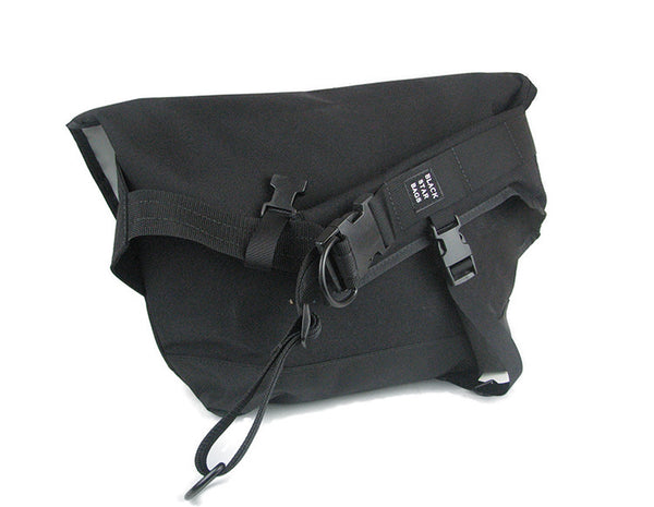 Black Waterproof Messenger Bag