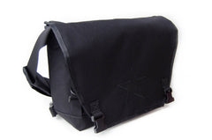 Black Small Messenger Bag