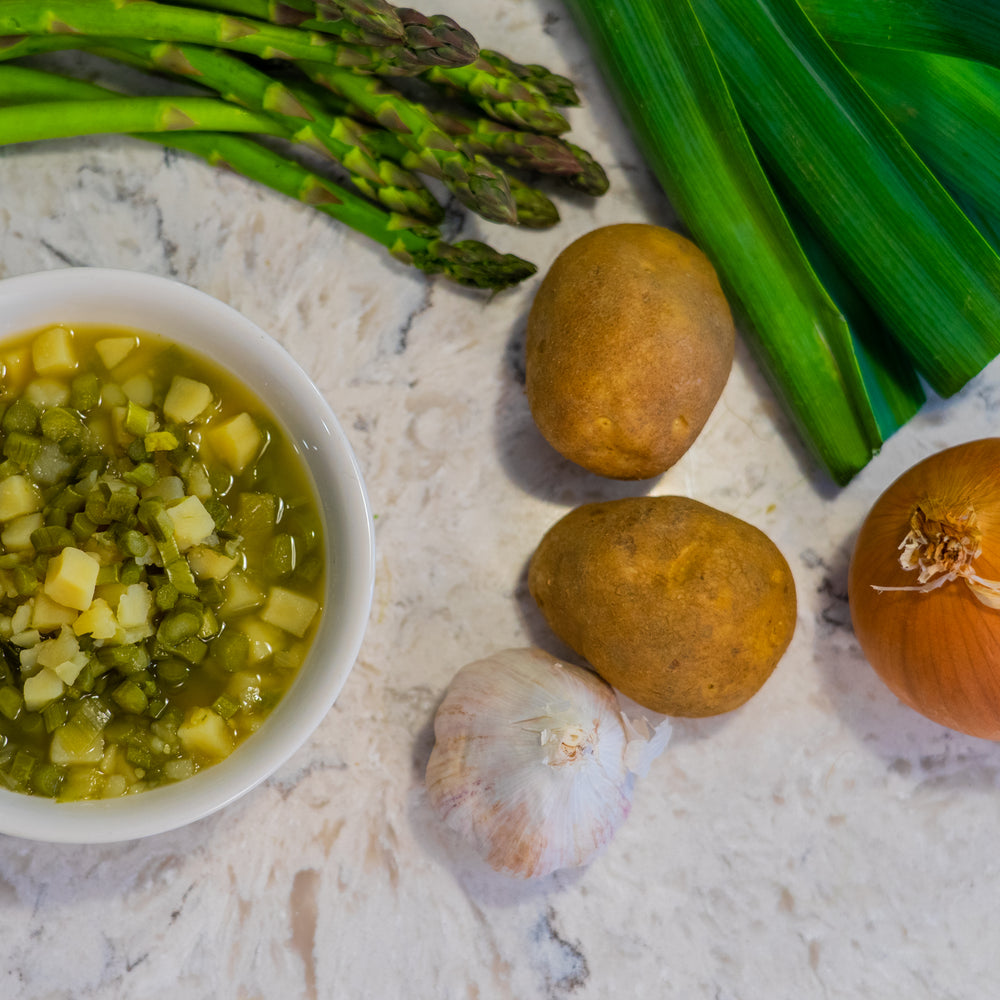 Asparagus & Potato Soup