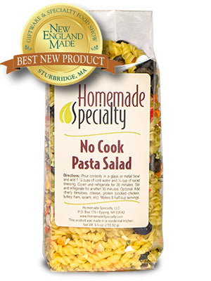 No Cook Pasta Salad