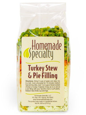 Turkey Stew & Pie Filling