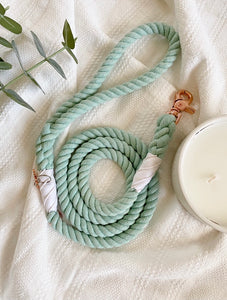 "Mint To Be ""Rope Leash"""