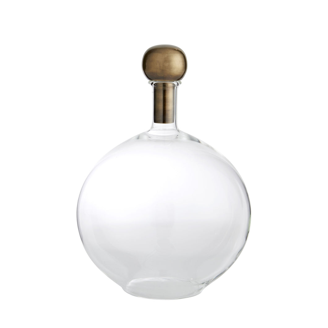 Laguna Sphere Stopper Decanter