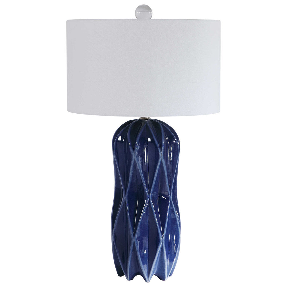 Newport Blue Table Lamp