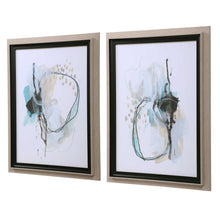 Load image into Gallery viewer, La Jolla Abstract Art Set of 2