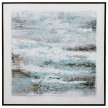 Load image into Gallery viewer, Into the Waves Hand Painted Canvas