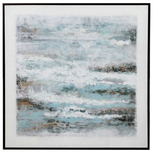 Into the Waves Hand Painted Canvas