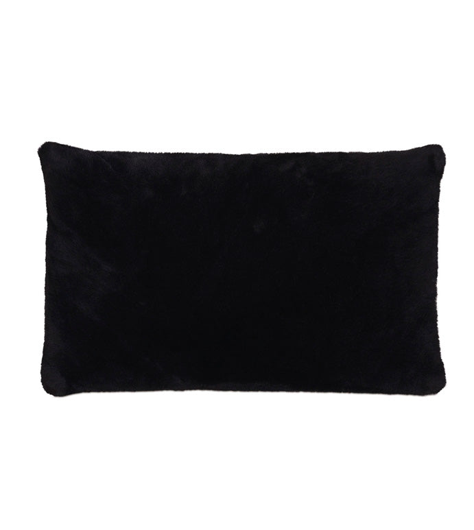 Fur Onyx Kidney Pillow