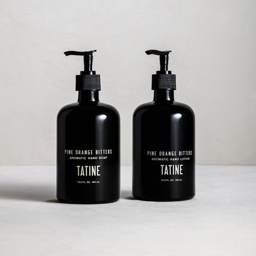 Tatine Pine Orange Bitters Hand Soap & Lotion Set