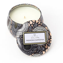 Load image into Gallery viewer, YASHIOKA GARDENIA PETITE TIN CANDLE