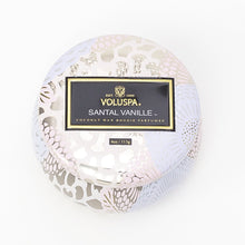 Load image into Gallery viewer, SANTAL VANILLE PETITE TIN CANDLE
