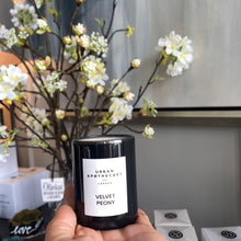 Load image into Gallery viewer, London Velvet Peony Candle Luxury Mini Candle