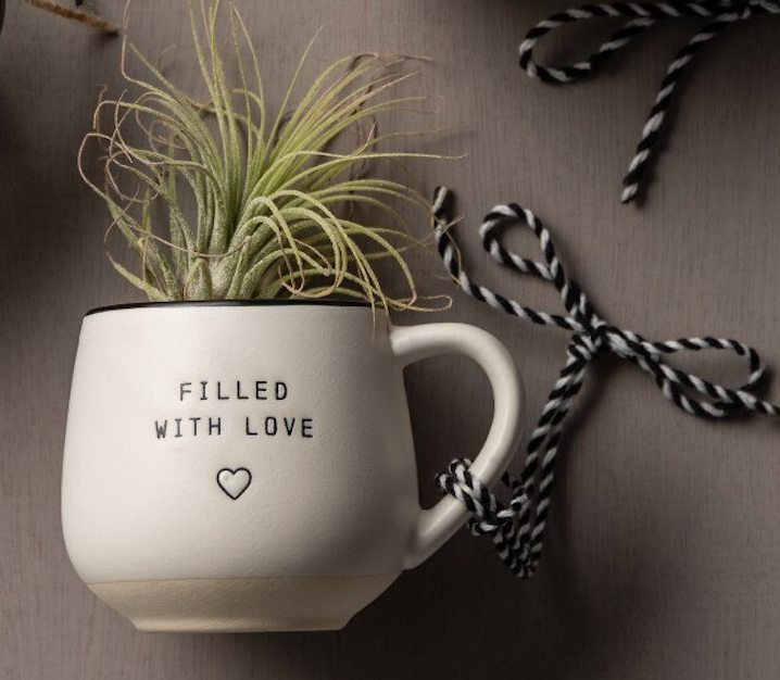 Filled with Love- Espresso Cup