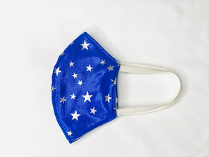 Shooting Stars Sparkle 3 Layer Washable Face Mask with Filter
