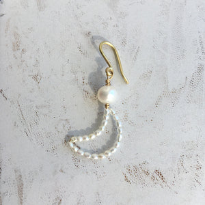 Half Moon Bay earring, single