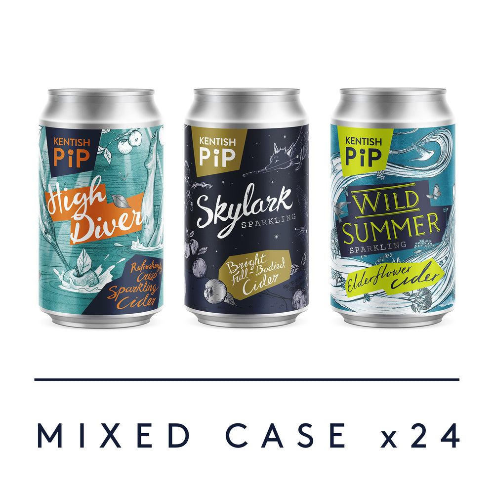 Mixed case of our most popular cans 24 x 330ml
