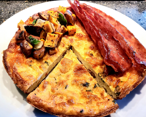 Vegetable Frittata Meal
