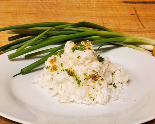 Lemon Scented Jasmine Rice
