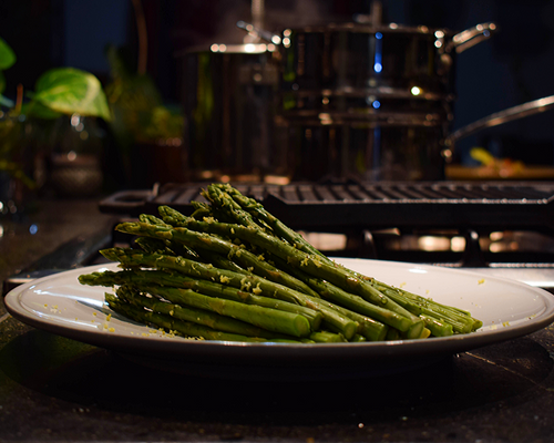 Lemon Seasoned Asparagus