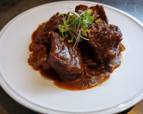 Beef Short Rib in a Demi-Glace
