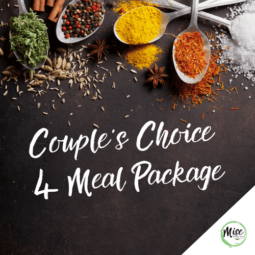 Couple's Choice 4 Meal Package