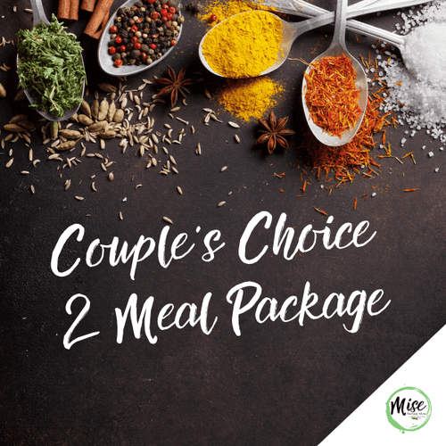 Couple's Choice 2 Meal Package