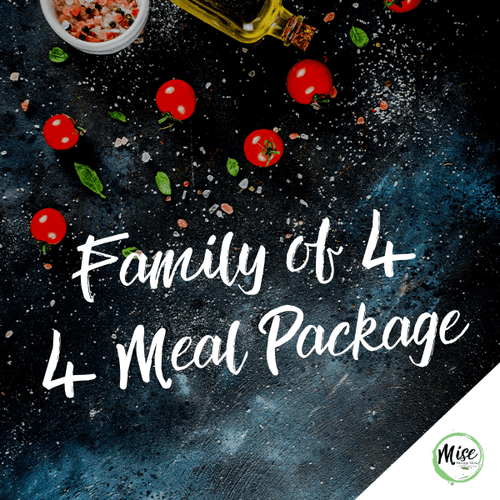 Family of 4: 4 Meal Packages
