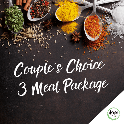 Couple's Choice 3 Meal Package